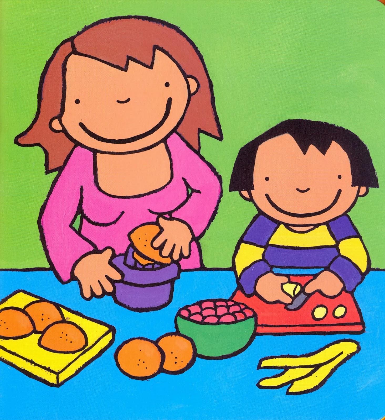 Anna eet fruit